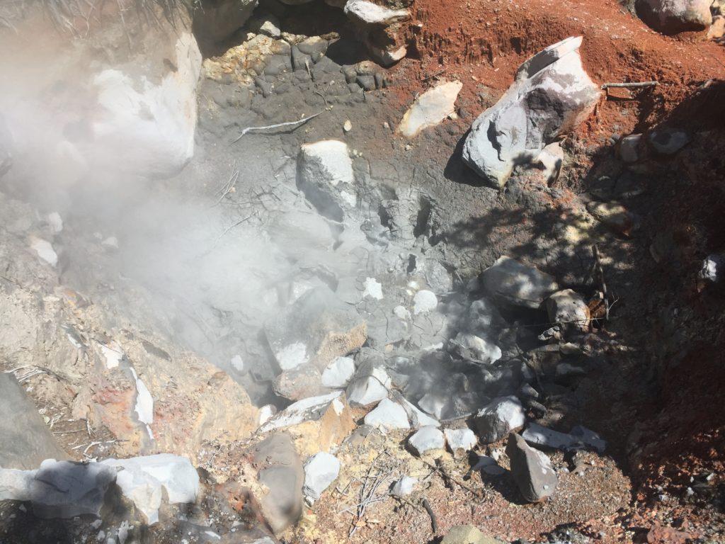 activité volcanique rincon de la vieja