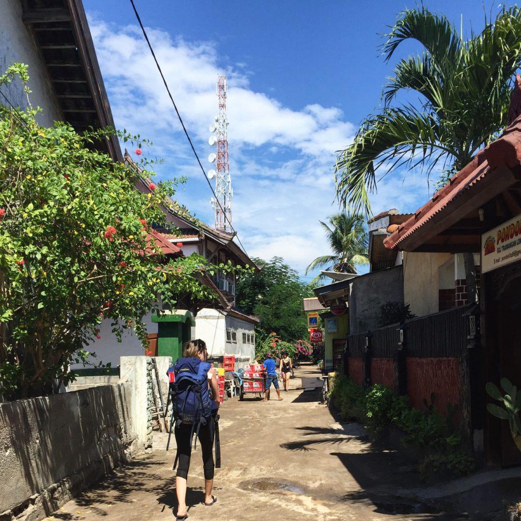 gili trawagan , itinéraire Indonésie