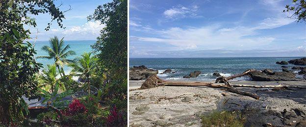 les plages de nicoya sud, très belles à découvrir en quad. Sauvage, un paysage époustouflant.