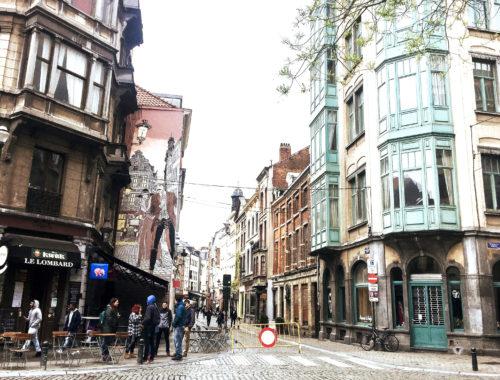 parcours de la bd Bruxelles