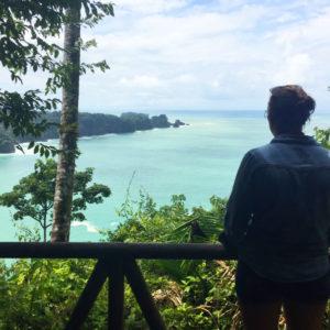vue sur mer Manuel Antonio
