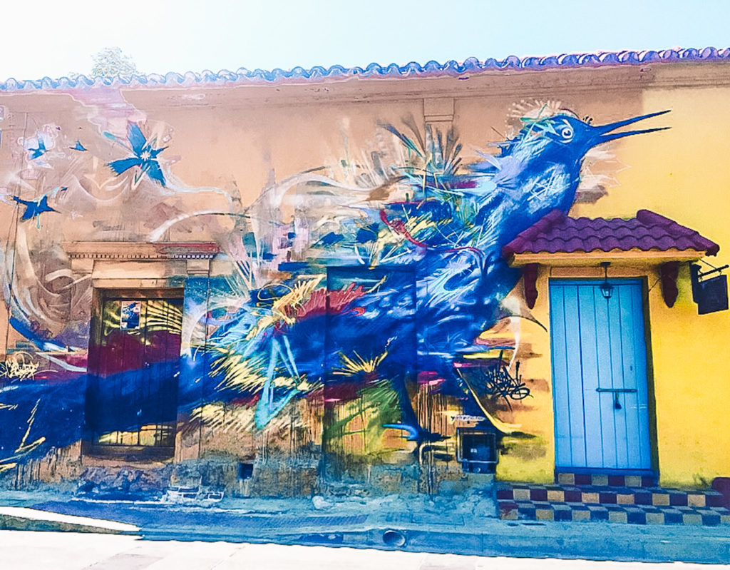 street art voyage carthagène colombie