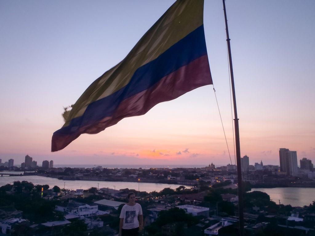 drapeau colombie voyage