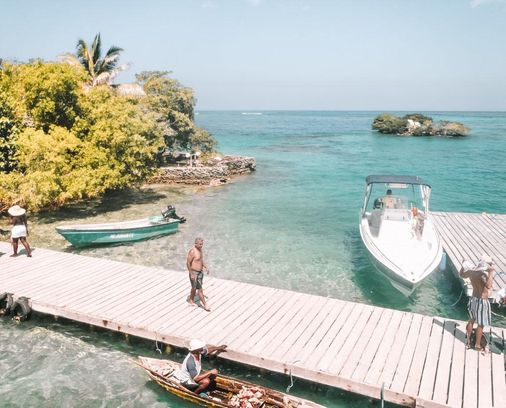 isla baru colombie