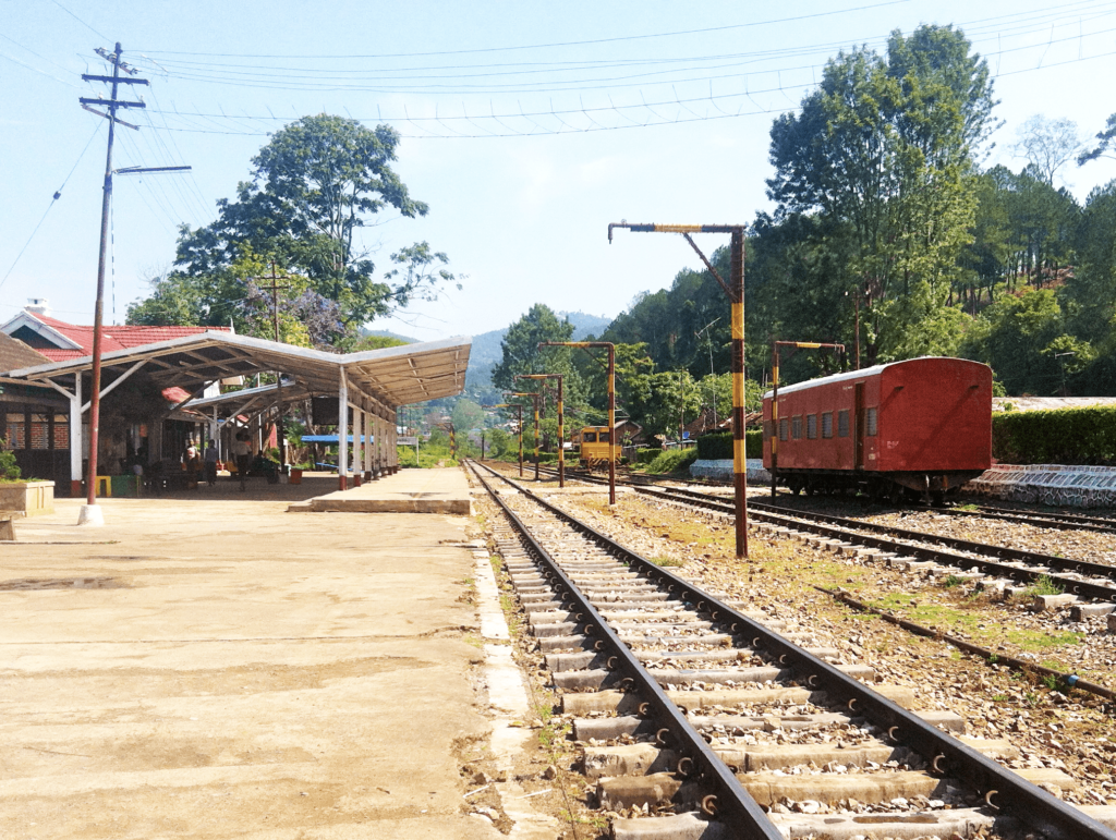 station de train
