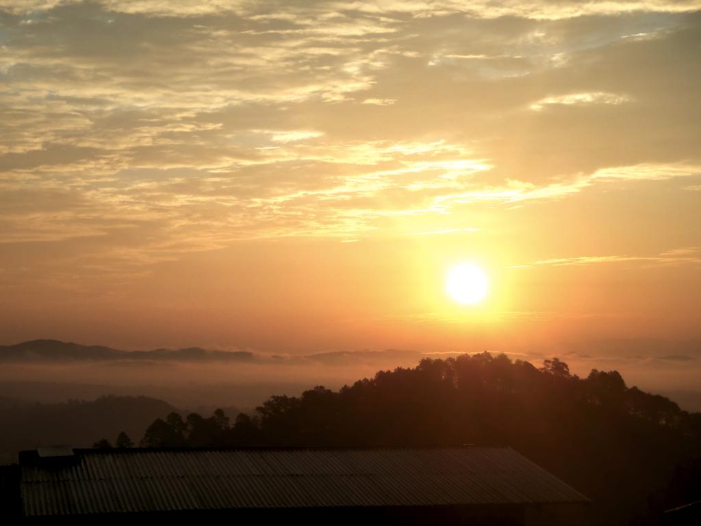 coucher soleil birmanie